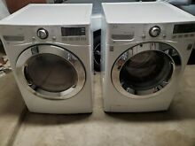 LG Front Load Washer Elec  Dryer Set Ultra large Cap  Used Excellent condition