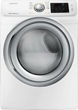 Samsung  DVG45N5300W  7 5 Cu  Ft  10 Cycle Gas Dryer w Steam   White BRAND NEW