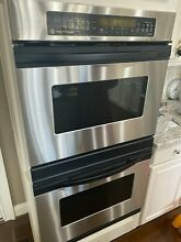 GE Profile Performance 30  Electric Double Oven jt950s0a2ss