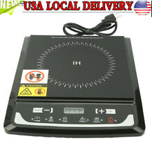 1000W Electric Single Induction Cooker Portable Burner Cooktop Digital Hot Plate