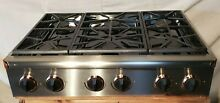 Dacor ESG366S Epicure 36  6 Burner Gas Cooktop  Stainless Coppertone