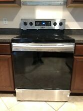 Samsung ELECTRIC RANGE 5 8 Cu Ft Stainless Steel Free Standing Convection Oven