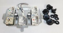 Jenn Air Whirlpool Maytag Cooktop Control Panel Knobs WP74008940 WPW10270254
