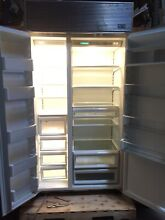 SubZero Model 642 Refrigerator Freezer With Ice Maker