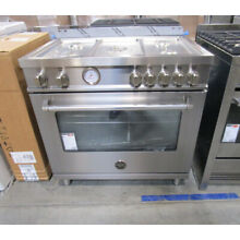 Bertazzoni 36  Stainless Steel Gas Range w  Convection MAST365GASXE