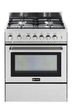 Verona VEFSGG304SS  30 Inch Freestanding All Gas Range with Convection Oven