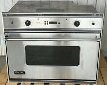 Viking Professional VESO165CSS Built  In Wall Oven   TESTED   Used 3 times
