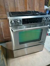 Jenn Air JDS9865BDP 30  Pro Style Stainless Dual Fuel Range Serial 12468431JJ