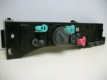 WHIRLPOOL DRYER User Interface pewter buttons 8530589 WP8530589