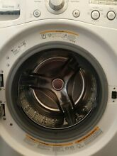 LG 4 0 cu  ft  Front Load Washer with ColdWash  Model  WM3050CW  Great OBO