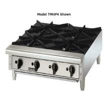 Toastmaster   TMHP6   36 in Pro Series  Countertop Gas Hot Plate