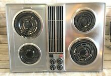 Jenn Air C202 Stainless Downdraft Cooktop Used Tested