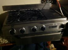 36 JENNAIR Gas Cook Top Grill Stainless