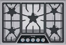 Thermador 30  5 Burner SS Masterpiece Gas Cooktop w  XLO Simmer SGSX305FS