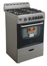 Avanti GR2416CSS 24  Gas Range with Sealed Burners in Stainless Steel