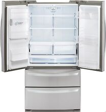 LG LMXS27626S Counter Depth French Door Refrigerator Stainless Steel