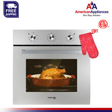 Gasland Chef ES609MS 24  Built in Stainless Steel Electric Single Wall Oven 240V