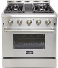 Kucht 30  Professional Natural Gas Dual Fuel Range with 4 Sealed Burners