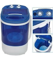 SUPER DEAL Mini Washing Machine Compact Counter Top Washer with Spin Cycle