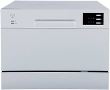 Spt Sd 2225Ds Compact Countertop Dishwasher Delay Start Energy Star Portable Dis