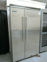 Viking 48  Built in Side by Side Fridge in Stainless Steel VCSB5483SS