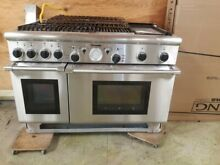 Thermador PRG486GDH Stainless Steel 48 in  Gas Range  4 burner  grill  griddle