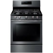 Samsung 5 Burner Convection Freestanding Gas Range NX58J5600SG