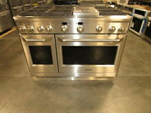 Monogram 48  All Gas Stainless Steel Range with Convection ZGP486NDRSS