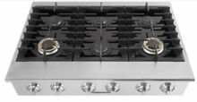 Electrolux ICON Professional E36GC76PRS 36 Inch Pro Style Rangetop with 6 Sealed