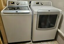 Maytag Bravos XL Steam Washer and Dryer  Gently used and excellent condition