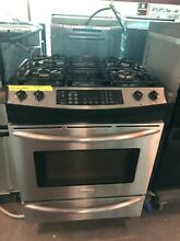 2004 Stainless Steel Frigidaire Electrolux Slide in Gas Range
