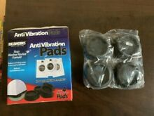 Washer   Dryer Anti Vibration Heavy Duty Rubber Pads Set   4 pcs   IDEA WORKS