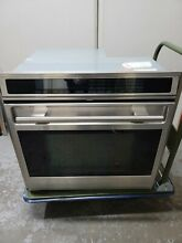 Wolf SO30F S Series 30  Single Electric Wall Oven Stainless Steel  4 5 cu  ft