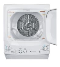 GE Laundry Ctr 3 8cu Washer   5 9cu 240V Vented Elect Dryer