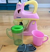 PLAYRIGHT Kitchen Appliance Playset   Mixer   3 Extra Items