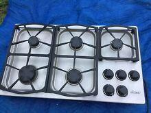 Dacor Cooktop 36 in  Gas Stainless steel 5 burner