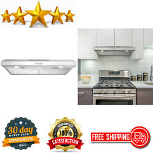Under Cabinet Range Hood Ducted Or Ductless Convertible Kitchen Over Stove Vent