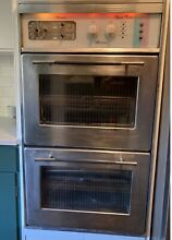 Mid Century Vintage Kenmore Electric Built In Double Oven