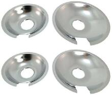Set Parts  Accessories Of 4 Range Cooktop Drip Pan Replacement For Jenn Air  2
