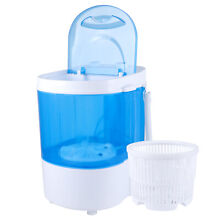 2 in 1 Compact Portable Mini Washing Machine 2 Model Washer   Spin 10Lb Capacity