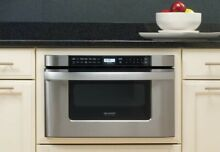 Sharp Stainless Steel Microwave Oven Drawer  Hardly Used