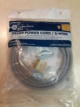 GE 6 ft  3 Prong 30 Amp Dryer Cord wx09x10004