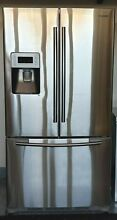 26 cubic ft  Capacity Samsung Stainless Steel French Door Refrigerator RF267AERS