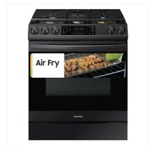 NEW Samsung Slide In Gas Range AIR FRY Convection Oven SMART 6 0 CU FT NX60T8511