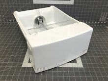 GE Refrigerator Ice Container Bin Bucket Assembly P  WR17X23255 WR17X11419