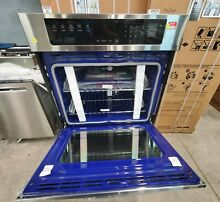 NEW LG LWS3063 Convection Stainless Electric Wall Oven 30  WiFi