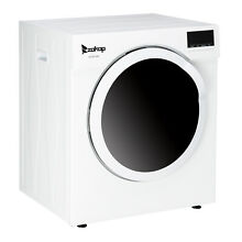 ZOKOP 6kg 13LBS Tumble Dryer Electric Compact Drying Machine Stainless Steel LCD