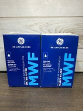 MWF Water Filters for GE Appliances  Refrigerator  2 pk Genuine GE Filter