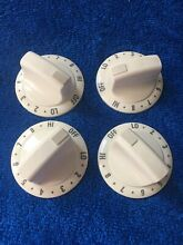 Kenmore Stove Oven Control Knobs 316208102 Set of 4 BISQUE
