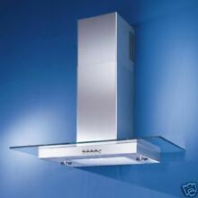 NEW  ELITE KENMORE  36  STAINLESS   GLASS CHIMNEY HOOD  1260
